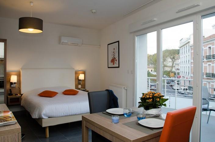 Locatio appartement séjour cure Lamalou-Les-Bains
