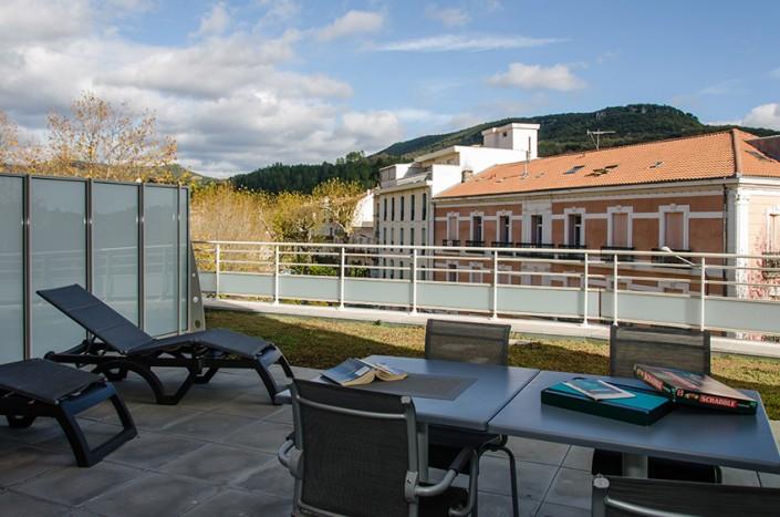 Location appartements meublés résidence Ambroise Paré Lamalou-Les-Bains